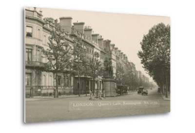 Queen's Gate, Kensington, London--Metal Print