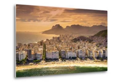 Copacabana Beach-CelsoDiniz-Metal Print