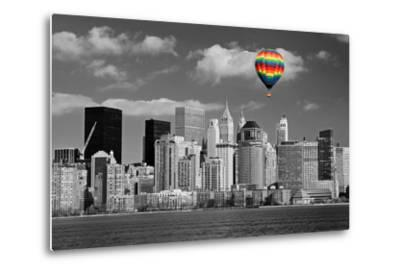 Lower Manhattan Skyline-Gary718-Metal Print