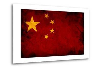 Flag Of China-igor stevanovic-Metal Print