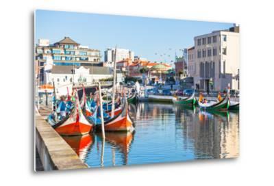 Aveiro, Portugal View-topdeq-Metal Print