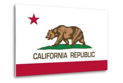 California State Flag-Bruce stanfield-Metal Print