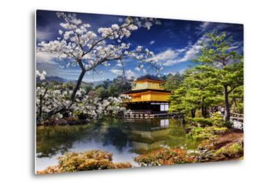Gold Temple Japan-NicholasHan-Metal Print