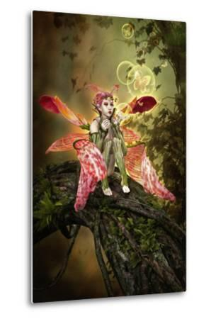 Bubble Magic-Atelier Sommerland-Metal Print