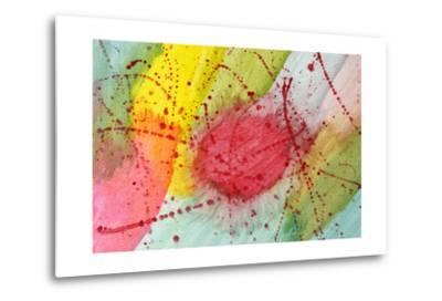 Abstract Hot Spot-M@Benoit-Metal Print