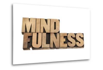Mindfulness-PixelsAway-Metal Print