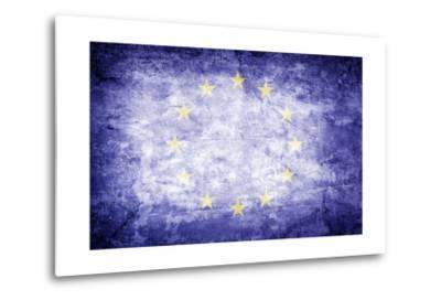 Eu Flag-kwasny221-Metal Print