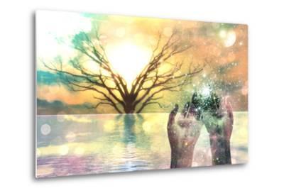 Spiritual Composition-rolffimages-Metal Print