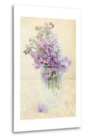 Bouquet of a Lilac-Es75-Metal Print