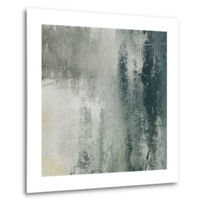 Art Paper Texture For Background In Black And White Colors-Irina QQQ-Metal Print