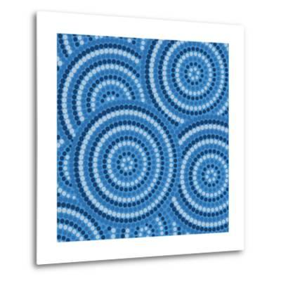 Aboriginal Abstract Art-Piccola-Metal Print