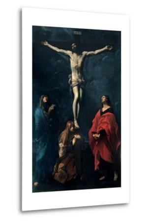 Crucifixion-Guido Reni-Metal Print