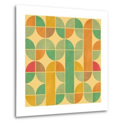 Retro Abstract Seamless Pattern With Seamless Texture-Heizel-Metal Print