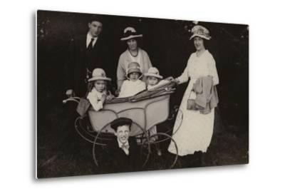 Family Portrait, 1920--Metal Print