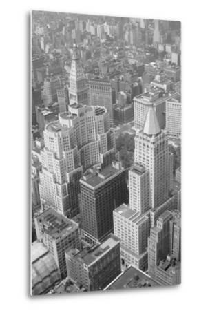 Metropolitan Life Insurance Co Building--Metal Print