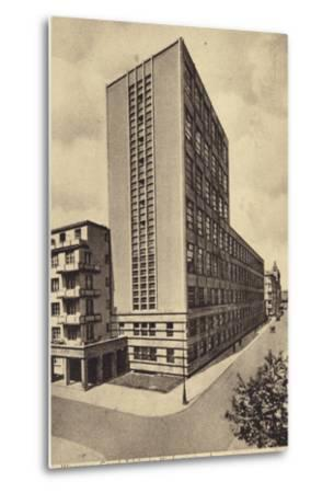 Central Long Distance Telephone Service Office Building, Warsaw--Metal Print