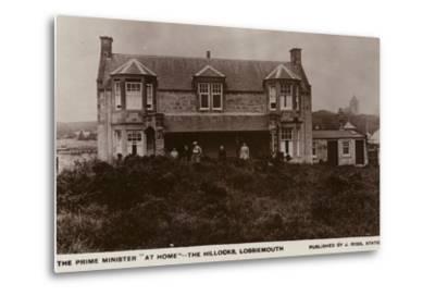 The Hillocks, Lossiemouth--Metal Print