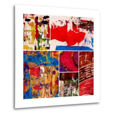Abstract Painting, Digital Collage-Andriy Zholudyev-Metal Print