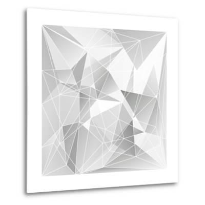 Abstract Triangle Background-epic44-Metal Print