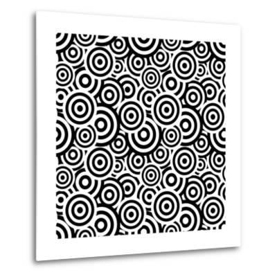 Seamless Retro Pattern- ihor_seamless-Metal Print