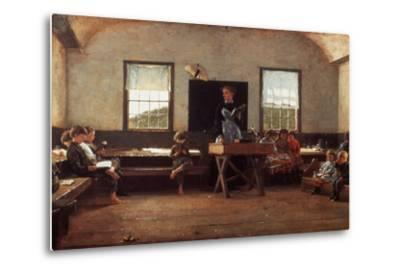 Winslow Homer: the Country School--Metal Print