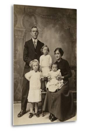 Family Portrait--Metal Print