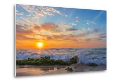 Sandy's Sunrise-Island Leigh-Metal Print