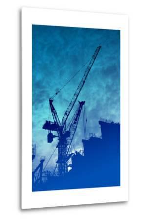 Construction Industry-kgtoh-Metal Print