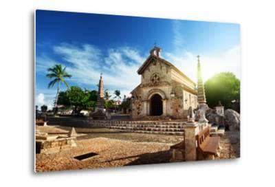 Village Altos De Chavon, Dominican Republic-Iakov Kalinin-Metal Print