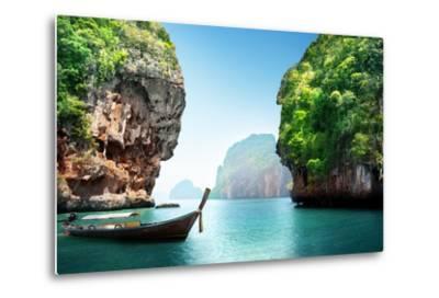Fabled Landscape of Thailand-Iakov Kalinin-Metal Print