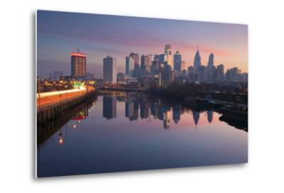 City of Philadelphia.-rudi1976-Metal Print