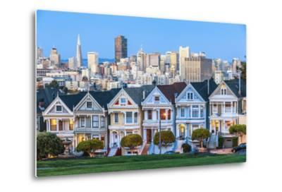 The Painted Ladies of San Francisco-prochasson-Metal Print
