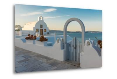 The Famous Blue and White City Oia,Santorini-scorpp-Metal Print