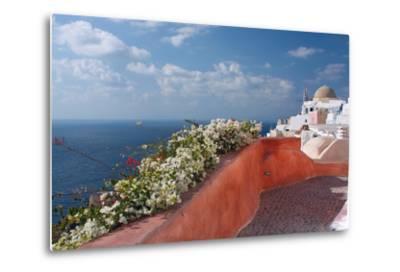 Santorini, Greece-Dikti-Metal Print