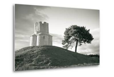 Dalmatian Stone Church on the Hill-xbrchx-Metal Print