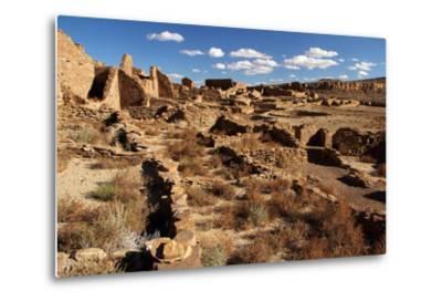 Pueblo Bonito Ruins-Wilsilver-Metal Print