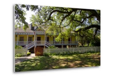 Laura' Historic Antebellum Creole Plantation House, Louisiana, USA-Cindy Miller Hopkins-Metal Print