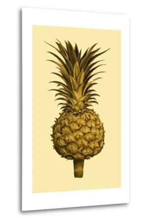 Sepia Pineapple II--Metal Print