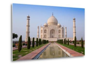 The Taj Mahal, UNESCO World Heritage Site, Agra, Uttar Pradesh, India, Asia-Gavin Hellier-Metal Print