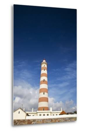 Barra Lighthouse, Costa Nova, Aveiro, Portugal-Julie Eggers-Metal Print