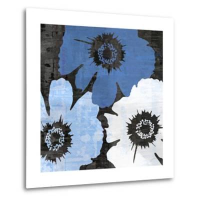 Bloomer Squares XIV-James Burghardt-Metal Print