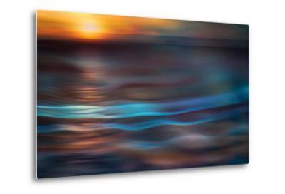 Pacific Sunset-Ursula Abresch-Metal Print