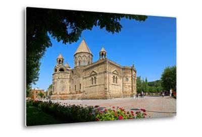 Etchmiadzin Cathedral, Armenia, One of the World's Oldest Churches and a World Heritage Site-Babak Tafreshi-Metal Print