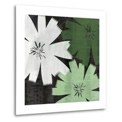Bloomer Squares XVIII-James Burghardt-Metal Print