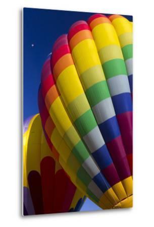 Hot Air Balloon Closeup, Albuquerque, New Mexico, USA-Maresa Pryor-Metal Print