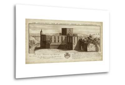 View of Brinkburn Priory-Nathanial Buck-Metal Print