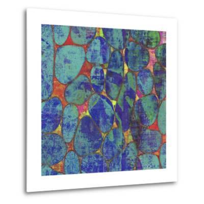 Stone Silhouettes II-Ricki Mountain-Metal Print