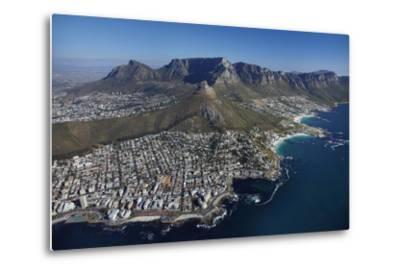 Bantry Bay, Clifton Beach, Lion's Head, Cape Town, South Africa-David Wall-Metal Print
