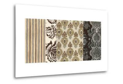 Neutral Nouveau Panel II--Metal Print