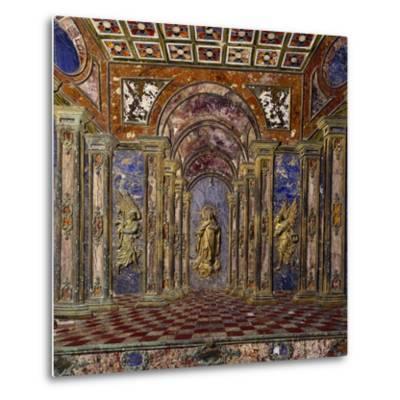 Altar of Royal Chapel of Assumption--Metal Print